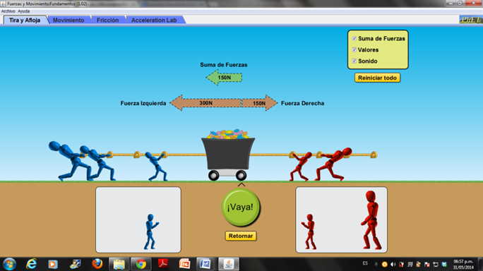 Phet Motion And Forces Basics