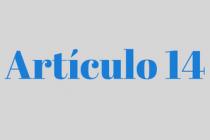 ARTÍCULO 14