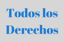 TODOS LOS DERECHOS