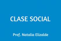 CLASE SOCIAL