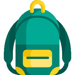 icono de mochila