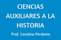 CIENCIAS AUXILIARES A LA HISTORIA