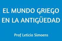 EL MUNDO GRIEGO EN LA  ANTIGÜEDAD