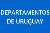 DEPARTAMENTOS DE URUGUAY