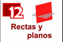 12 - Rectas y Planos