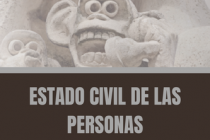 ESTADO CIVIL DE LAS PERSONAS