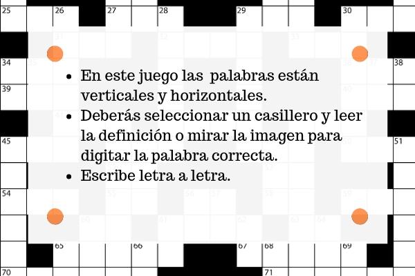 Crossword instructions