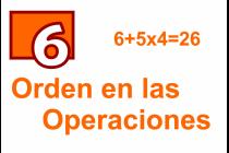 6 - Orden en las Operaciones
