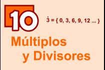 10 - Múltiplos y Divisores