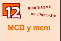 12 - MCD y mcm