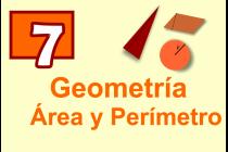 7 - Geometría - Área y perímetro