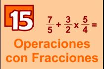 15 - Operaciones con Fracciones
