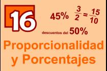 16 - Proporcionalidad y Porcentajes