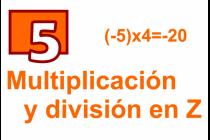 5 - Multiplicación y División en Z