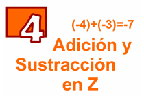 4 - Adición y Sustracción en Z
