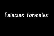 Módulo 12/ Unidad 3. Falacias formales