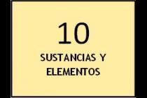 Sustancias y Elementos