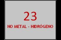 No Metal-Hidrógeno