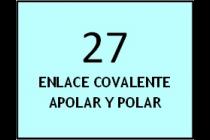 Enlace covalente polar y no polar