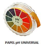 Papel ph Universal