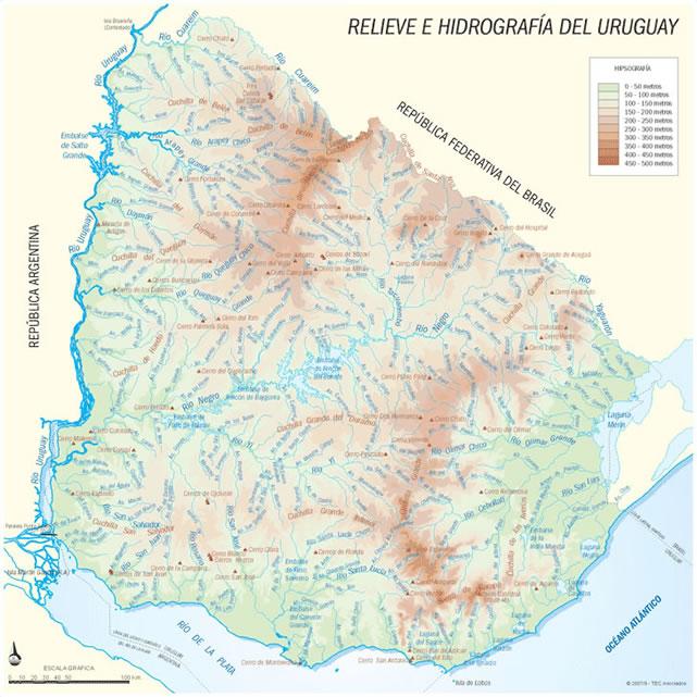 mapa ríos