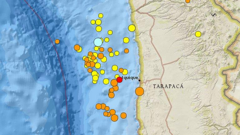 Terremotos en Chile