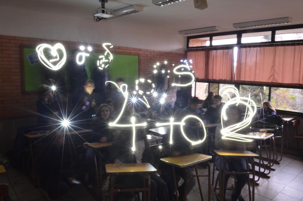 larga exposición en salón de clase