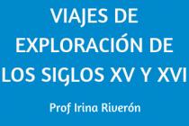 VIAJES DE EXPLORACIÓN DE LOS SIGLOS XV Y XVI