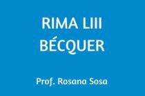 RIMA LIII. BÉCQUER