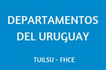 DEPARTAMENTOS DEL URUGUAY