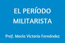 EL PERÍODO MILITARISTA Y LA MODERNIZACIÓN DEL URUGUAY
